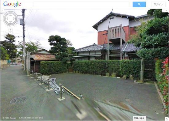 #18旧片桐邸(北西から眺む)ストリートビューより.jpg