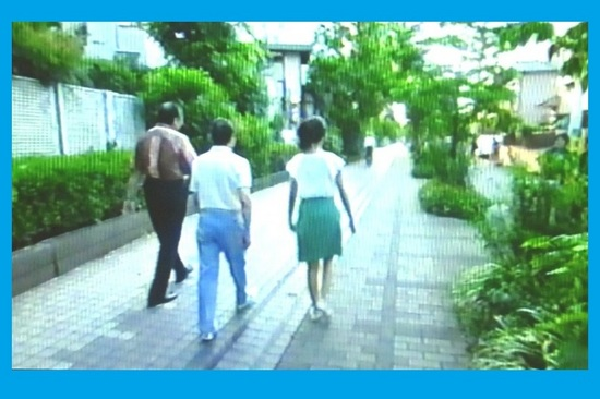 &23旧玉電線路跡を歩くタモリさん一行P960B.jpg